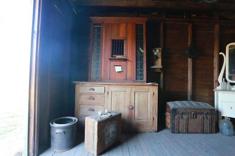 Inside Immokalee Pioneer Museum at Roberts Ranch