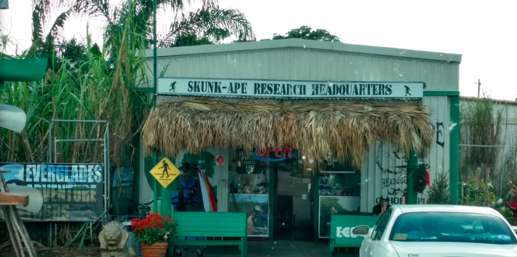 The Skunk Ape Research Headquarters